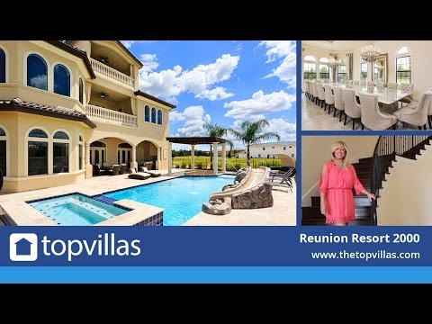 Reunion Resort 2000 - 12 Bedroom Luxury Orlando Villa