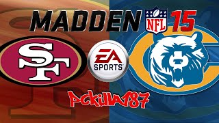 Madden 15 I Thought Bears Were Scary PS3/XBOX360 Gameplay