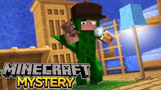 Minecraft Mystery : CREEPY NEIGHBOURS MURDER SOMEONE!?!