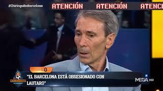 🚨 LOBO CARRASCO revela la OBSESIÓN del BARÇA con LAUTARO