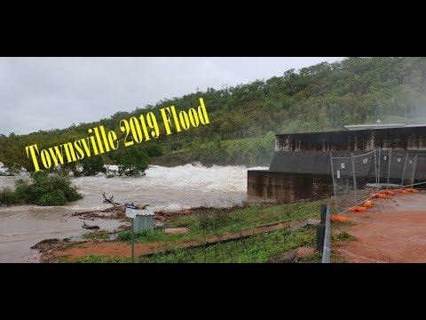Townsville Floods 2019   Ross Dam, Black Weir & Framara Park