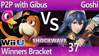 SW 37 Wii U - P2P with Gibus (Duck Hunt, MK) vs Goshi (Lucina, Pit) - Winners Bracket