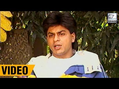 Shah Rukh Khan's RARE And EXCLUSIVE Interview About His Filmy Career | Lehren Diaries