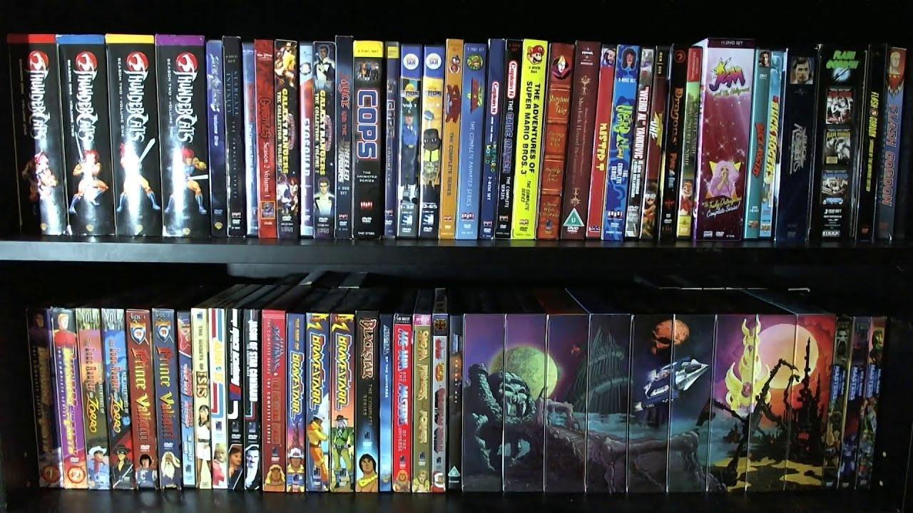 my 80s cartoons dvd collection part 2 2012 dvdbluray