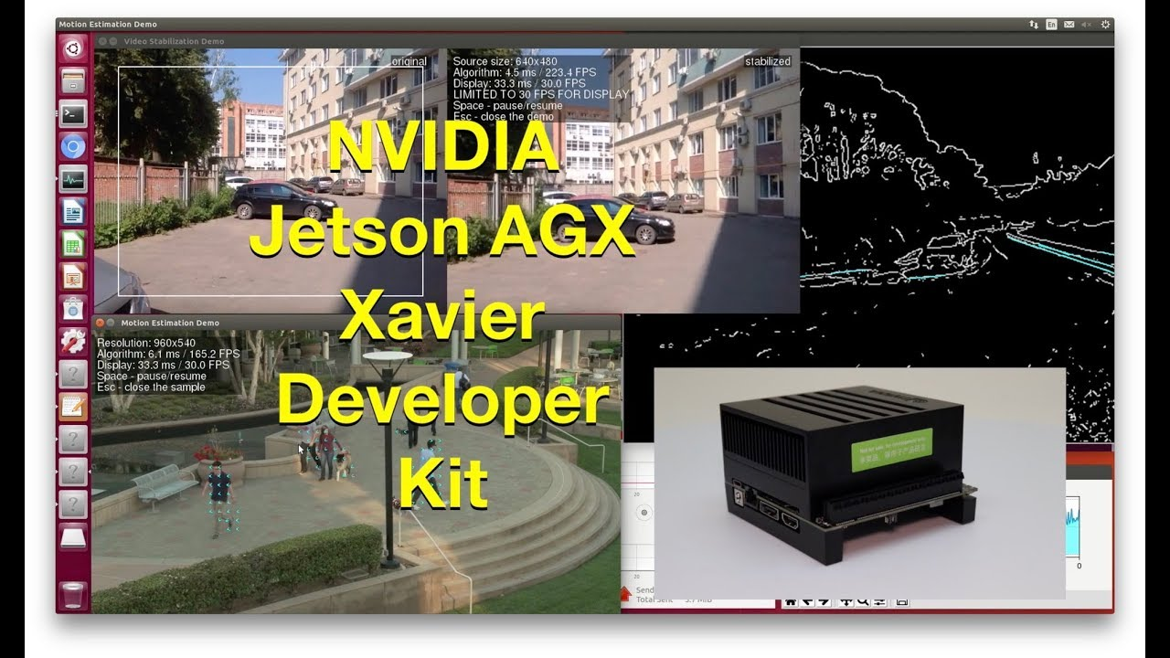 NVIDIA Jetson AGX Xavier Developer Kit Unboxing and Demonstration