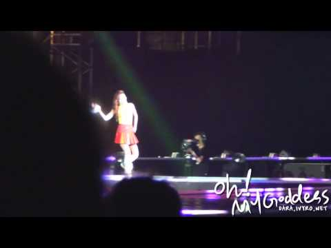 [FANCAM] 120729 New Evolution - KISS (DARA ver)