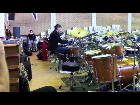 Jonathan Lombana - Drumsolo - Drumclinic - Cape Town - September 2012