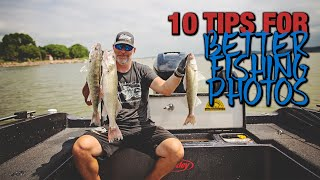 How to Take Better Fishing Photos
