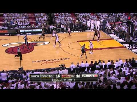Mario Chalmers (19pts) vs Spurs (2013 Finals) Game 2
