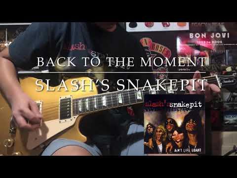 Back To The Moment – Slash's Snakepit (Guitar Cover w/outro improvisation) by 14yr old Renz Dadural