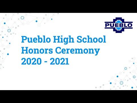 Pueblo High School - Honors Ceremony 2021