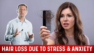 Hair Loss Due to Stress & Anxiety