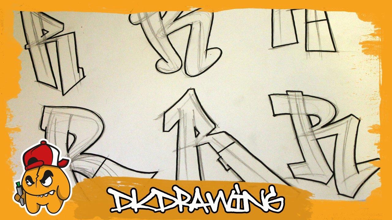 Graffiti alphabets letter r buchstabe r letra r youtube