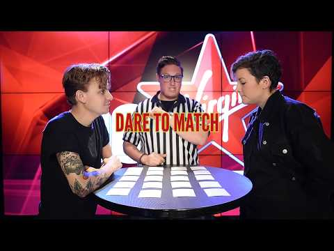 Scott Helman and Ria Mae play DARE TO MATCH