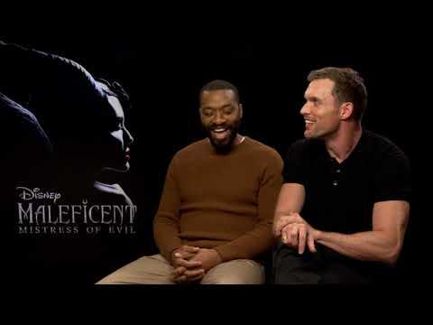 MALEFICENT - MISTRESS OF EVIL Ed Skrein & Chiwetel Ejiofor Full Interview  DISNEY Movie
