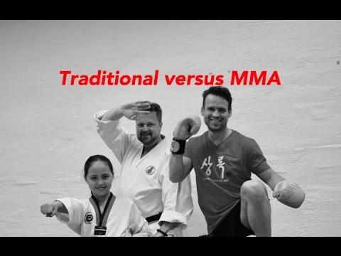 Traditional versus MMA