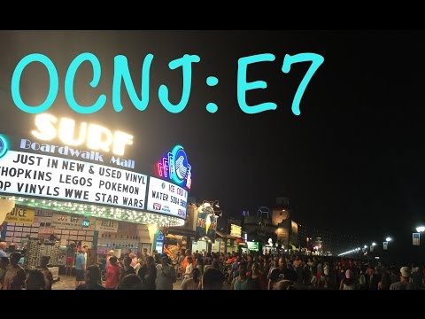Adventures in Ocean City: Night on the Boardwalk! (E7, Day 1)