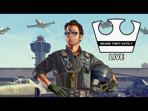 Jirka a GEJMR Hraje - GTA V Online - Lítáme! [PC] [LIVE]