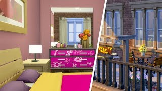 AND THEY WERE ROOMMATES // The Sims 4: Apartment Speed Build