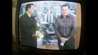 Paulo Cerozino no programa Tatu na TV
