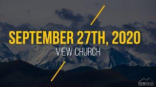 View Church Live Stream - September 27th