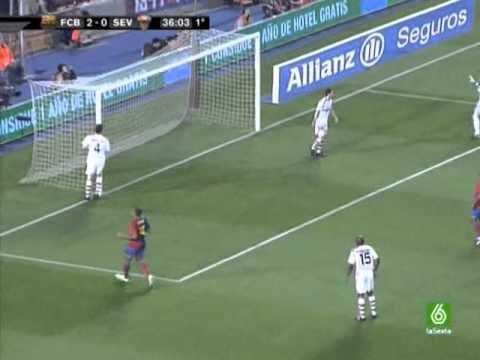 F.C. Barcelona Vs. Sevilla FC (22/04/2009) Full Match