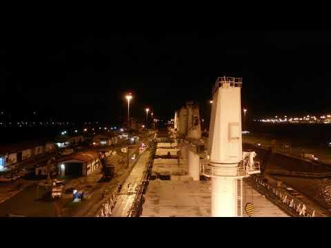 passaggio del canale di panama su una nave italiana bulk panama channel on board italian bulk ship 3