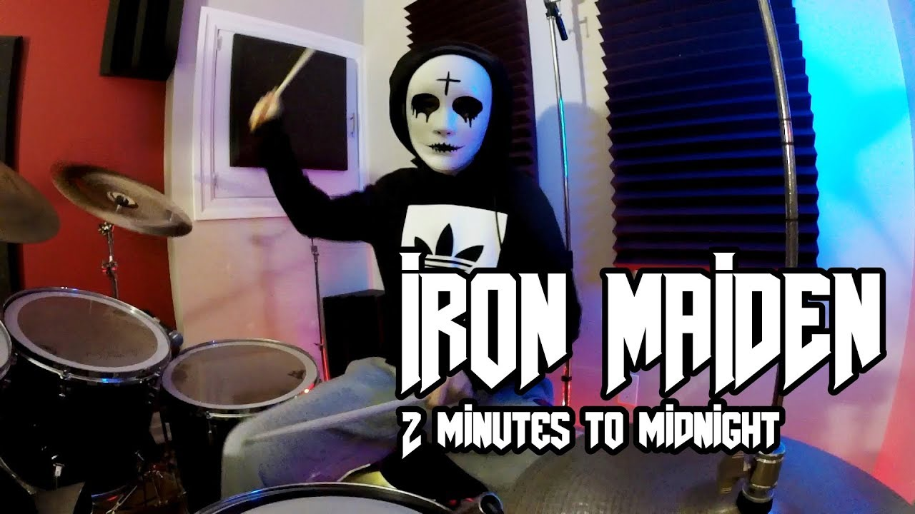 Iron Maiden - 2 Minutes to Midnight - Drum Cover (2019)