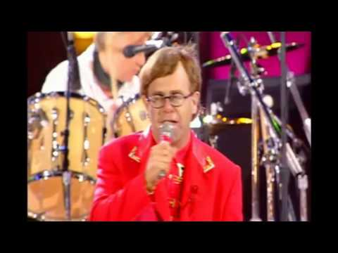 Elton John - The Show Must Go On (with Queen)