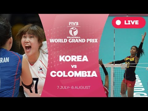 Korea v Colombia - Group 2: 2017 FIVB Volleyball World Grand Prix
