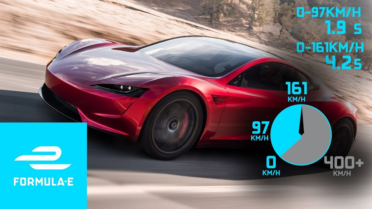 New Tesla Roadster Top Speed Acceleration Facts Stats