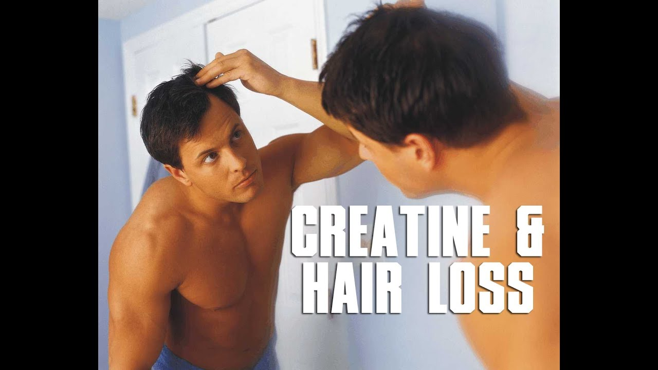 Does creatine cause hair loss? - YouTube