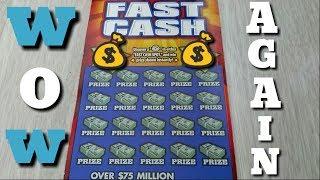 Instant Fast Cash it happened again CA scratchers