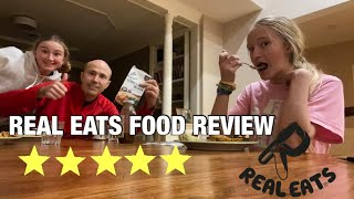 REAL EATS FOOD REVIEW