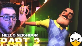 HE KIDNAPPED ME?  - HELLO NEIGHBOR - PART 2
