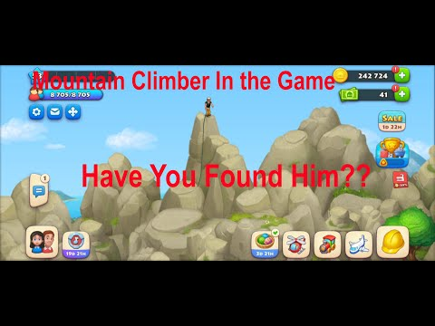 Township - Mountain climber in the Game |