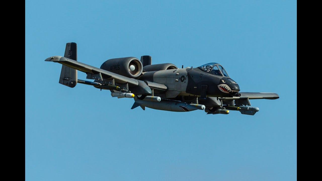 A-10 Warthog Thunderbolt - YouTube