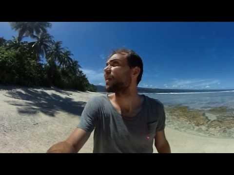 360 Walk on the Beach at Pisang Island Sumatra (Indonesia)