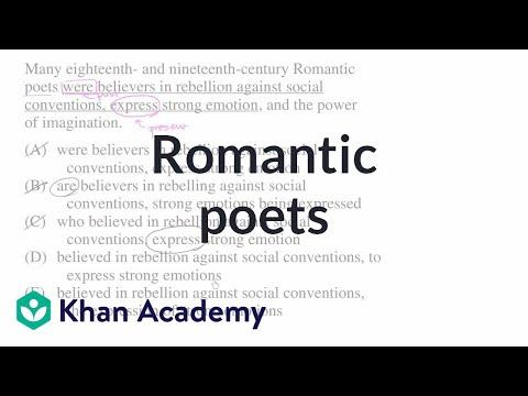 8 Romantic poets