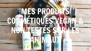 Mes produits cosmétiques | VEGAN & NON TESTÉS SUR LES ANIMAUX