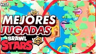 ¡¡MEJORES JUGADAS DE BRAWL STARS!! | GoDeiK