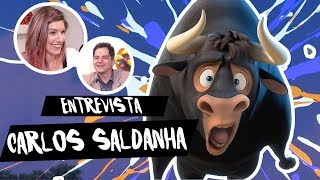 ENTREVISTA COM CARLOS SALDANHA   #OTouroFerdinando