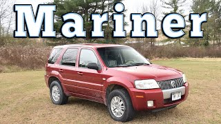 homepage tile video photo for 2008 Mercury Mariner: Regular Car Reviews