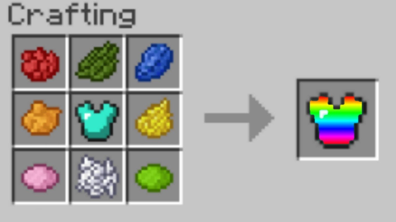Crazy Minecraft Crafting Recipes How