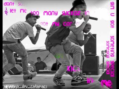 New Boyz ft Cataracs & DEV - BackSeat (lyrics)
