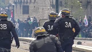 Manifestation pro NDDL : très violents affrontements (14 avril 2018, Nantes, France)