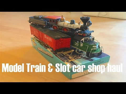 Slot Car & Model Train Shop Haul
