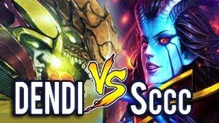 NaVi Dendi Vs Sccc - Power of Living Legend Dota 2