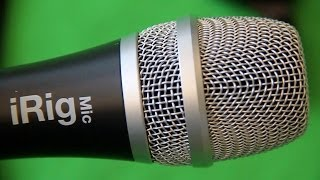 iRig Mic Review. Microphone for iPhone and Android Devices