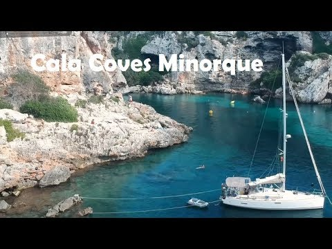 56-Sailing Jaza Bee 27 sept 2017 de Mahon à Cala Coves